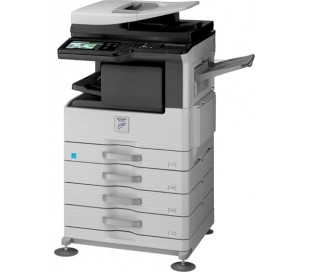 SHARP MX-M264N: 26 CPM DIGITAL PHOTOCOPIER WITH DUPLEX FEEDER & NETWORK PRINTING
