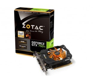 ZOTAC GTX 750 Ti 2GB DDR5, 128 BIT,1033-1111 / 5400, HDCP, DUAL DVI, MINI-HDMI, MEDIUM