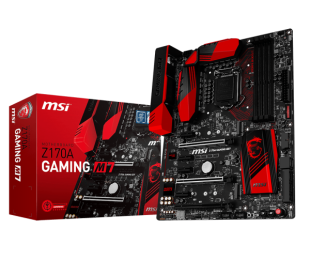 MSI Z170A GAMING M7 LGA 1151, 6th Gen, Intel® Z170 Express Chipset