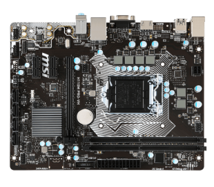 MSI H110M PRO-VH LGA 1151, 6th Gen, Intel® H110 Chipset