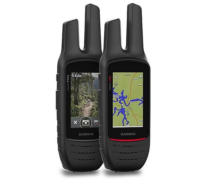 Garmin Rino 750 Two Way Radio With Handheld Gps Navigator