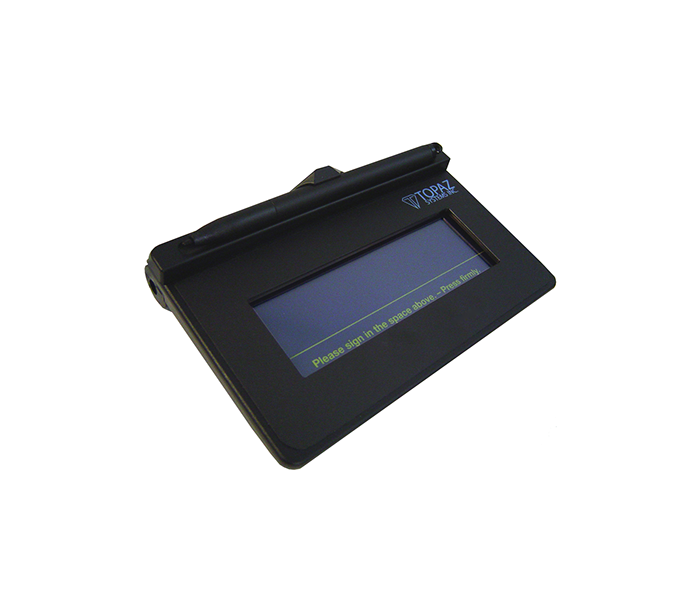 Topaz T L460 Siglite Lcd 1x5 Electronic Signature Pad: Signature Capture Pads In Bd, Signature Capture Pads In